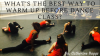 What is the best way to warm up before dance class?
